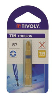 BIT POZIDRIV TIN TORSION