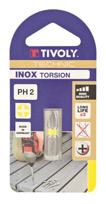 BIT PHILIPS INOX TORSION